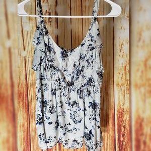 Torrid size 1 floral blouse